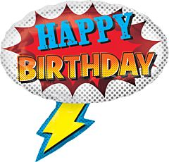 """27"""" Super Hero Birthday"""