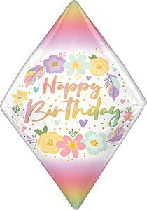 """25"""" Birthday Boho Gem Anglez"""