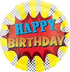 """17"""" Super Hero Birthday"""