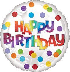 Happy Birthday Dots Of Color