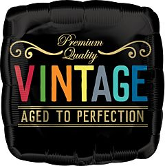 Vintage Birthday Aged to Perfection