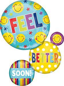 """28"""" Feel Better Soon Bubbles"""