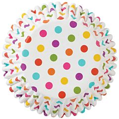 Baking Cup - Rainbow Dots