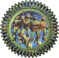 Baking Cup - TMNT 50Ct
