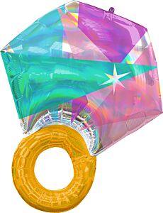 "27"" Iridescent Wedding Ring"