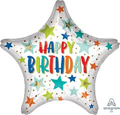 Happy Birthday Stars & Dots