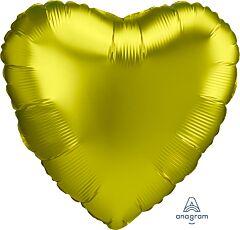 """17"""" Luxe Lemon Heart"""