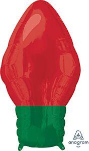 "22"" Red Christmas Light Bulb"