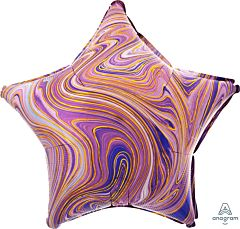"19"" Marblez Purple Star"