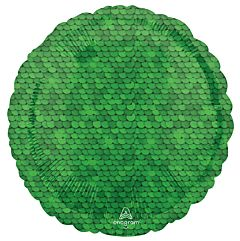 """17"""" Forest Green Sequins"""