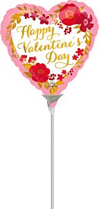 """9"""" Valentine Floral Wreath"""