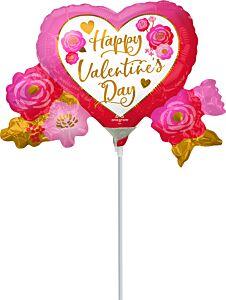 "14"" Valentine Heart & Roses"