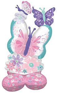 """44"""" Flutter Butterfly AirLoonz"""
