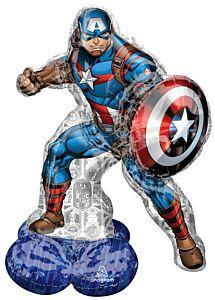 "48"" Marvel Avengers Captain America Airloonz"