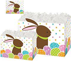 6.75 x 4 x 5 Box - Chocolate Bunny