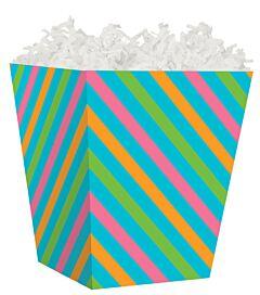 Treat Box - Angled Stripes