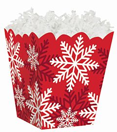 Sweet Treat - Red/White Snowflake