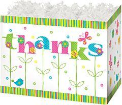 "6.75X4X5"" Small Box-Thanks Bloom"