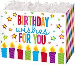 "6.75 x 4 x 5"" Small Box - Birthday Wishes"