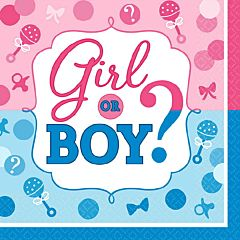 Girl Or Boy - Bev Napkin