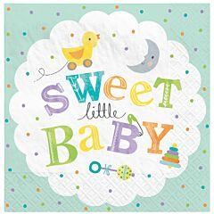 Sweet Little Baby - Lunch Napkin