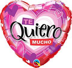 """18"""" Te Quiero Radiant Hearts"""