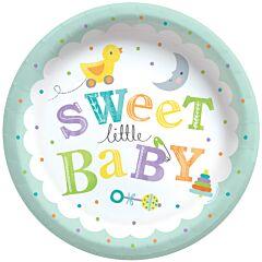 """Sweet Little Baby - 8.5"""" Plate"""