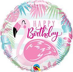 "18"" Birthday Pink Flamingo"