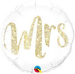 """18"""" Mrs. Glitter Gold"""
