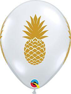 "11"" Qualatex Pineapple Latex"