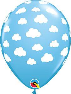 "11"" Qualatex Clouds Latex - Powder Blue"