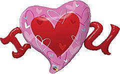 "46"" I Heart U"