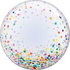 """24"""" Colorful Confetti Dot Bubble"""