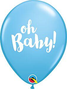 """11"""" Qualatex Oh Baby Latex - Powder Blue"""
