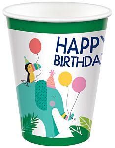 Jungle Bday - 9 oz Cup