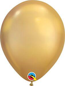 "11"" Qualatex Chrome Gold Latex"