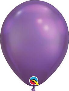 "11"" Qualatex Chrome Purple Latex"