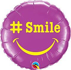 """9"""" Hashtag Smile"""