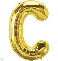 """34"""" Northstar Gold Letter C"""