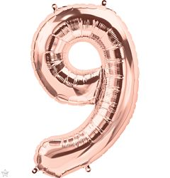 """34"""" Northstar Rose Gold Number 9"""
