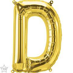 """16"""" Northstar Gold Letter D"""