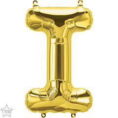 """16"""" Northstar Gold Letter I"""