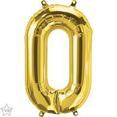 """16"""" Northstar Gold Letter O"""