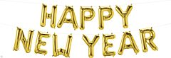 """16"""" Northstar Happy New Year Gold Kit"""