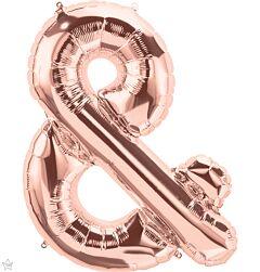 """34"""" Northstar Rose Gold Symbol Ampersand"""
