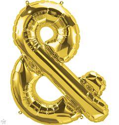 """34"""" Northstar Gold Symbol Ampersand"""
