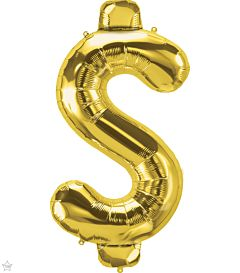"34"" Northstar Gold Symbol Dollar Sign"