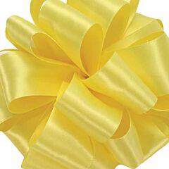 No3 Satin Ribbon - Lemon