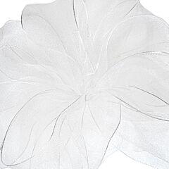No9 Wired Encore Ribbon - White