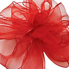 No9 Wired Encore Ribbon - Red